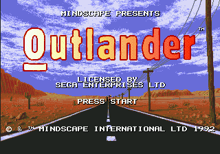 Outlander (Europe) on sega