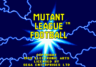 Mutant League Football (USA, Europe)
