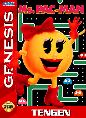 Ms. Pac-Man (USA, Europe)