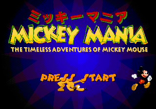 Mickey Mania - The Timeless Adventures of Mickey Mouse (Japan) on sega
