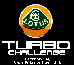 Lotus Turbo Challenge (USA, Europe)