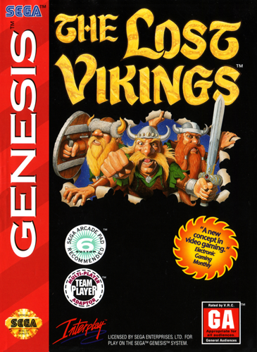 Lost Vikings, The (Europe) (Beta)