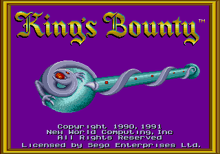 King's Bounty - The Conqueror's Quest (USA, Europe)