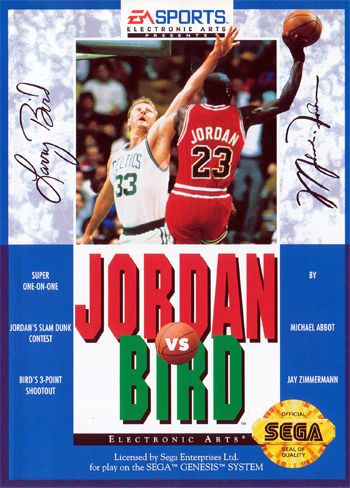 Jordan Vs Bird (USA, Europe)