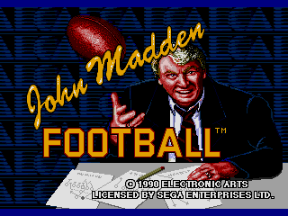 John Madden Football (USA, Europe)
