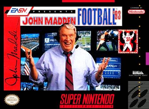 John Madden Football '93 (USA, Europe)