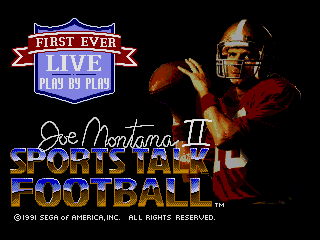 Joe Montana II Sports Talk Football (World) (Rev A)
