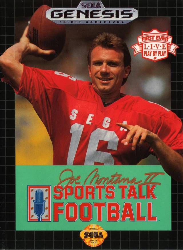 Joe Montana II Sports Talk Football (World)