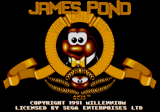 James Pond - Underwater Agent (USA, Europe)