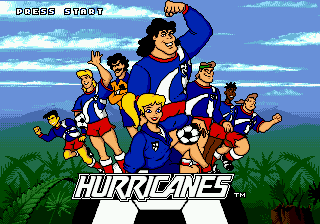 Hurricanes (Europe) on sega