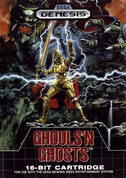 Ghouls 'n Ghosts (USA, Europe) (Rev A)