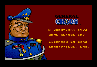 General Chaos (USA, Europe)