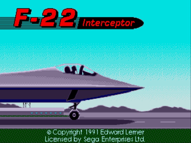 F-22 Interceptor (USA, Europe) (June 1992)