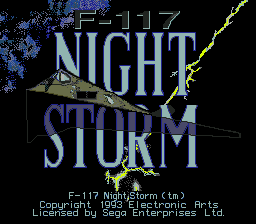 F-117 Night Storm (USA, Europe)