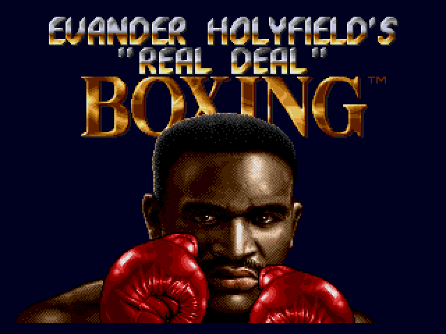 Evander Holyfield's 'Real Deal' Boxing (World)