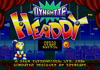 Dynamite Headdy (Japan) [En by MIJET v20070428]