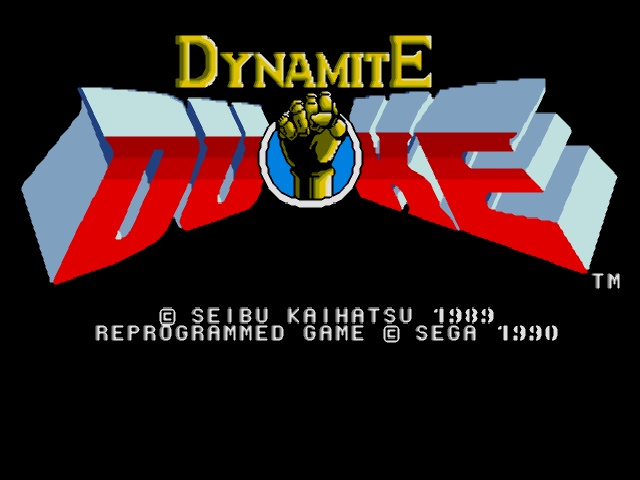Dynamite Duke (World) (Alt)