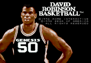David Robinson Basketball (Japan)