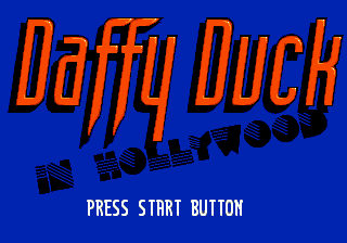 Daffy Duck in Hollywood (Europe) (Beta)