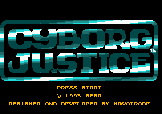 Cyborg Justice (USA, Europe)