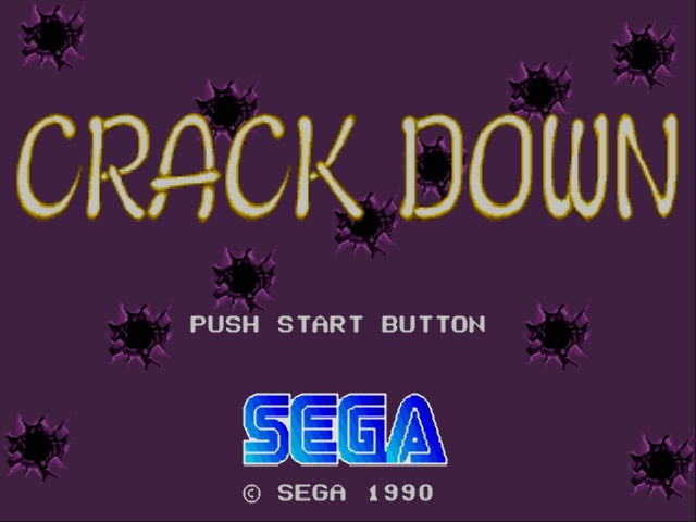 Crack Down (Japan) (Rev A)