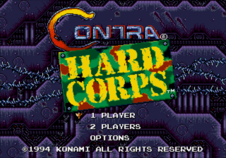 Contra - Hard Corps (USA, Korea) [Hack by MIJET v20080924] (Enhanced Editon)