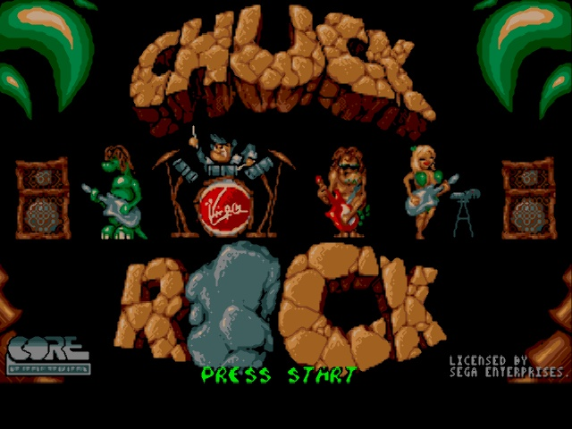 Chuck Rock (Europe) on sega