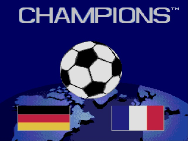 Champions World Class Soccer (World) (En,Fr,De,Es)