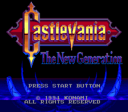 Castlevania - The New Generation (Europe)