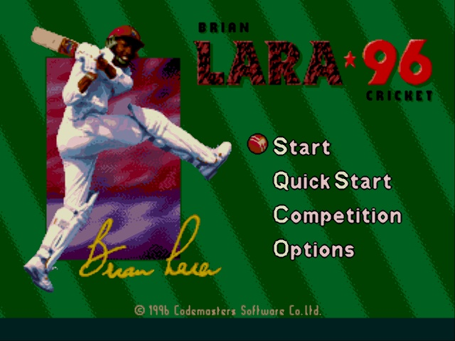 Brian Lara Cricket 96 (Europe) (March 1996)