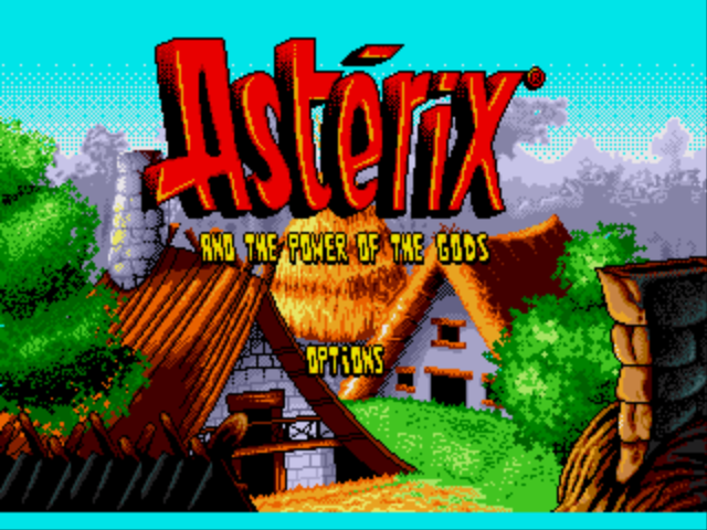 Asterix and the Power of the Gods (Europe) (Beta) Game