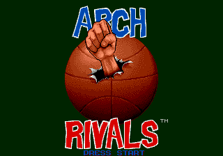 Arch Rivals - The Arcade Game (USA, Europe) Game