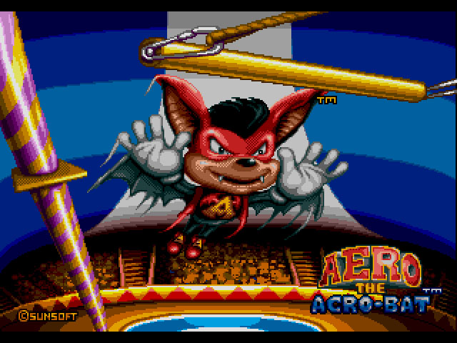 Aero the Acro-Bat (Europe) on sega