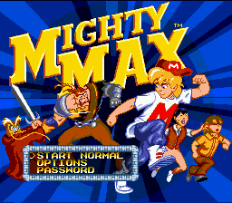 Adventures of Mighty Max, The (Europe) Game