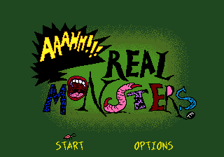 AAAHH!!! Real Monsters (USA, Europe) Game