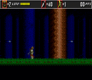 The Super Shinobi II (Earlier) Game