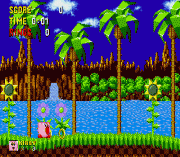 Kirby in Sonic the Hedgehog