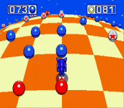 Sonic and Knuckles – Blue Sphere Plus