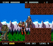 Rastan Saga II Game