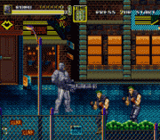 Streets of Rage 2 – Robocop & ED-209 Game