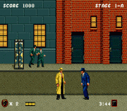 Dick Tracy on sega
