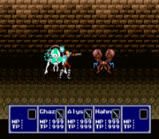 Phantasy Star IV – The End of the Millenium EasyType Game