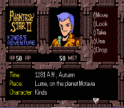 Phantasy Star II – Kinds's Adventure (english translation) Game