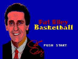 Pat Riley Basketball (Proto) Game