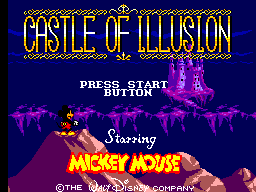 Castle of Illusion Starring Mickey Mouse on sms Game