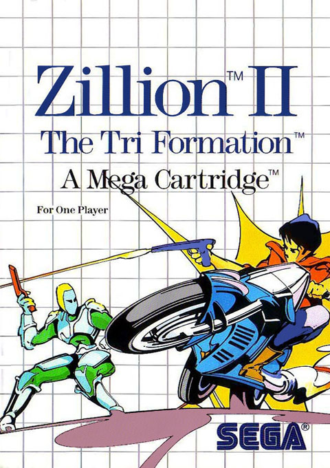 Zillion II - The Tri Formation (World) Game