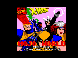 X-Men - Mojo World (Brazil) Game