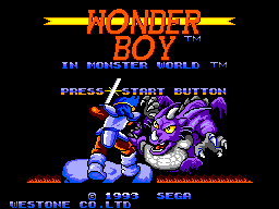 Wonder Boy in Monster World (Europe)