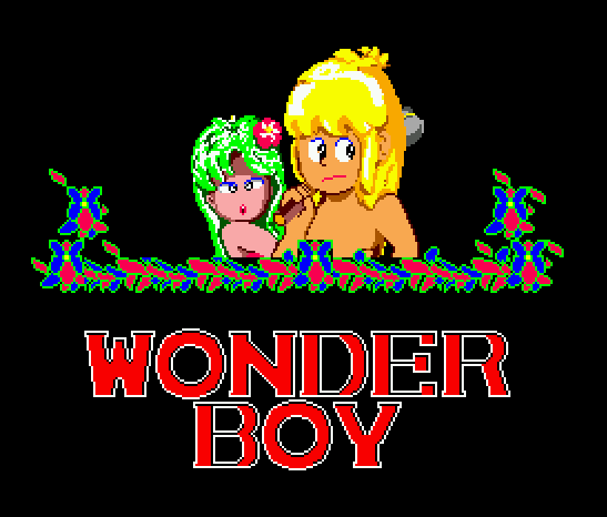 Wonder Boy (USA, Europe)