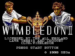 Wimbledon II (Europe) Game